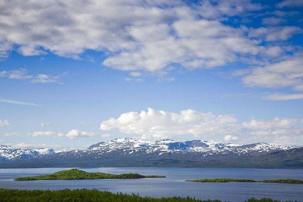 The Royal Track , Swedish Lapland , Sweden