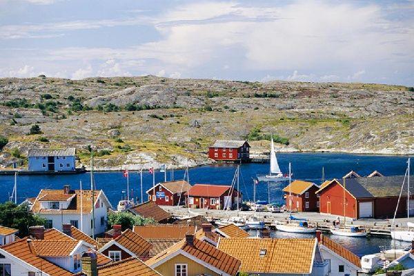 La costa sud occidentale , I fiordi, Svezia , Svezia