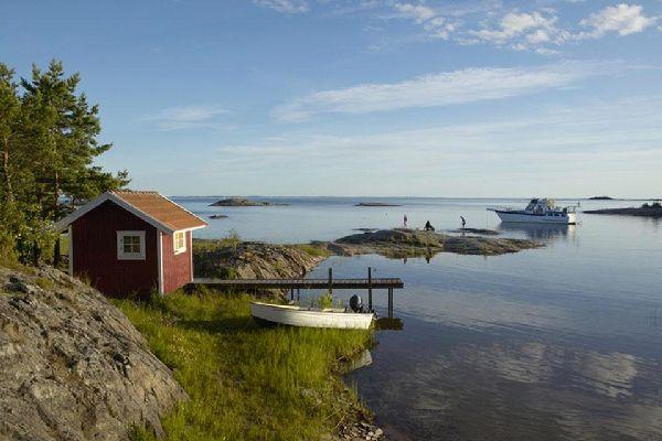 La costa baltica , Abbandonati nella natura svedese , Svezia