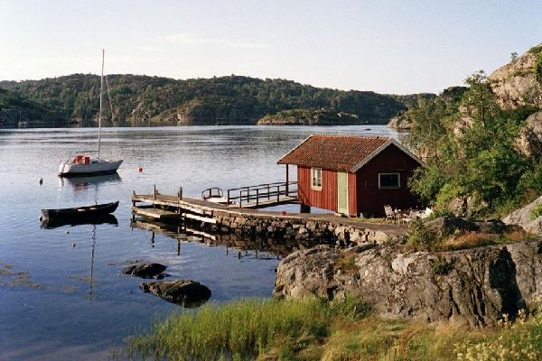 Die baltische Küste , Die baltische Küste von Schweden , Schweden
