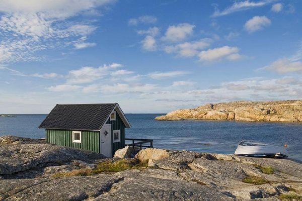La costa baltica , La costa baltica, Svezia , Svezia