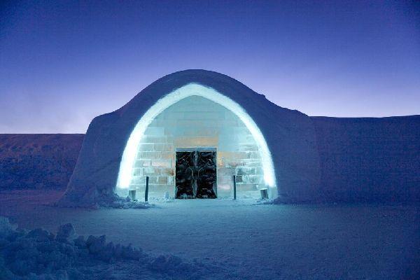 Der Eispalast , Jukkasjärvi, Schweden , Schweden