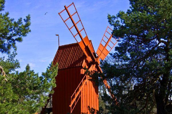 Das Skansen Museum , Schweden