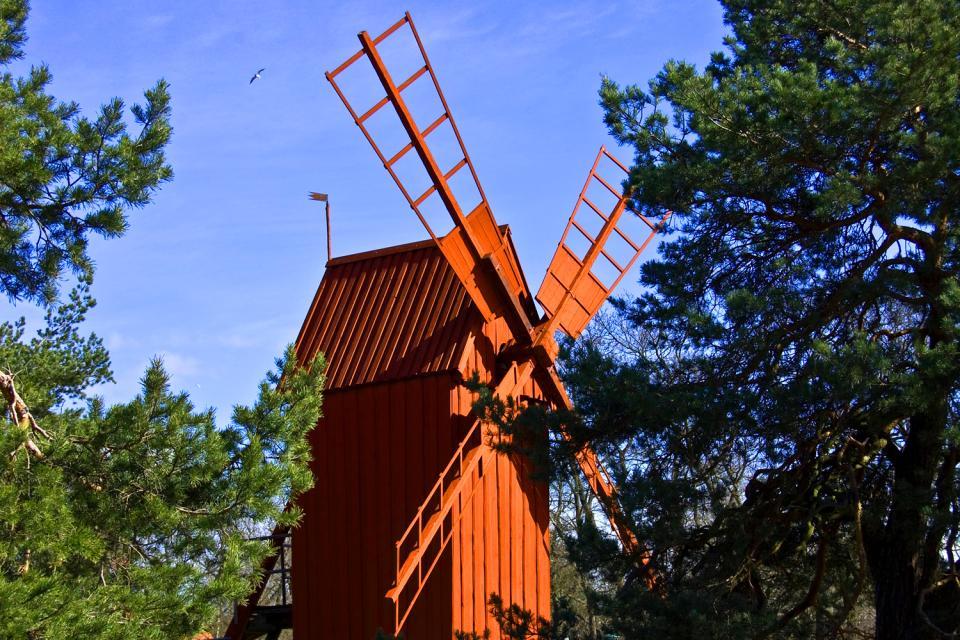 Il museo Skansen , Il museo di Skansen, Svezia , Svezia
