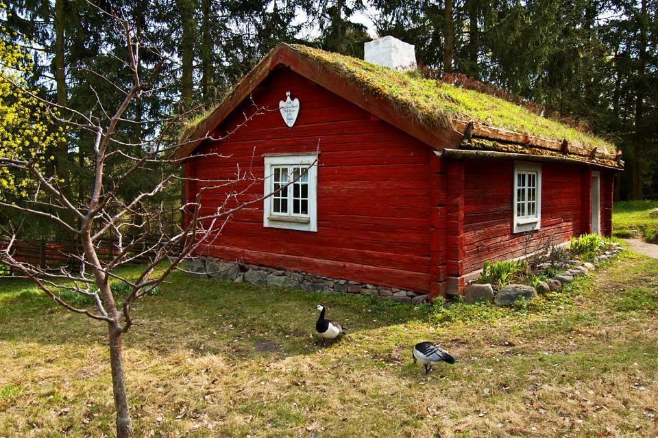 Il museo Skansen , Svezia