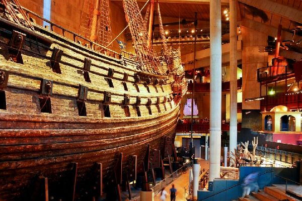Das Vasa Museum , Schweden