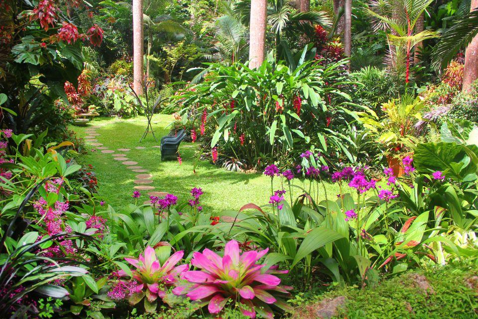 I giardini di Andromeda, I giardini botanici, La fauna e la flora, Barbados