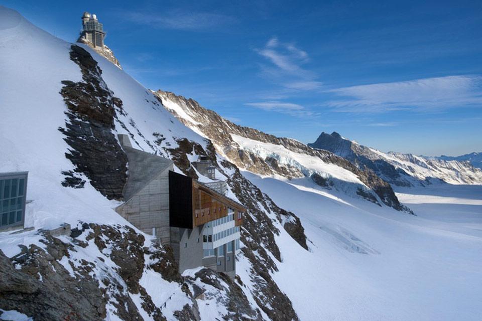L'Oberland bernese e lo Schweizer Mittelland , L'osservatorio del Jungfraujoch , Svizzera