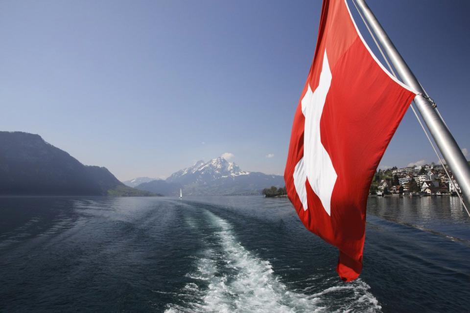 La regione del lago dei Quattro Cantoni , I Quattro cantoni , Svizzera