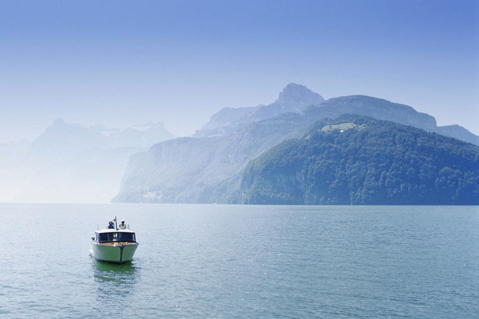 La regione del lago dei Quattro Cantoni , Il lago dei Quattro cantoni , Svizzera
