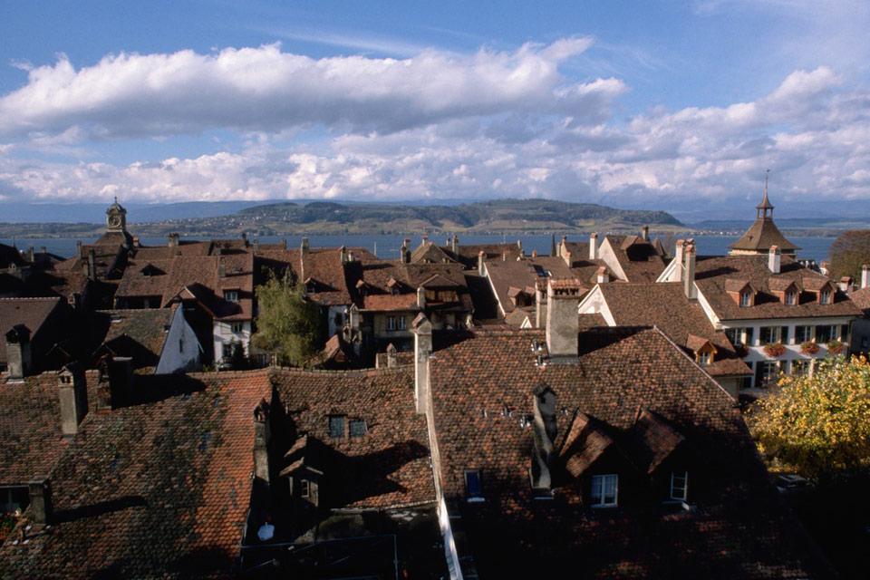 Le canton de Fribourg , Le lac de Schiffenen , Suisse