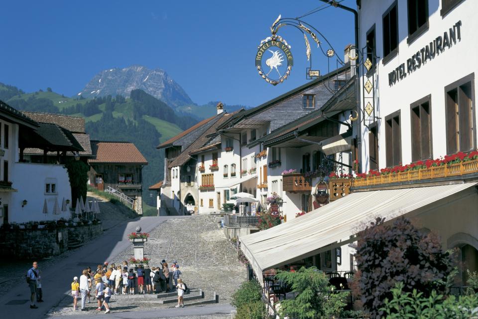 Le canton de Fribourg , Séjour à Fribourg , Suisse
