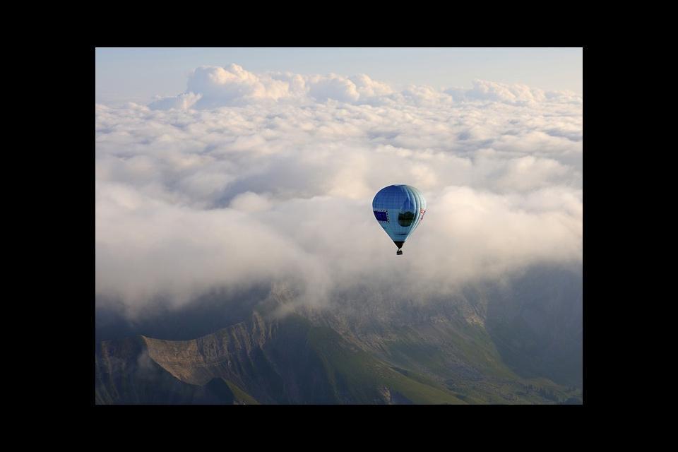Die Waadtländer Alpen , Sicht aus der Vogelperspektive , Schweiz