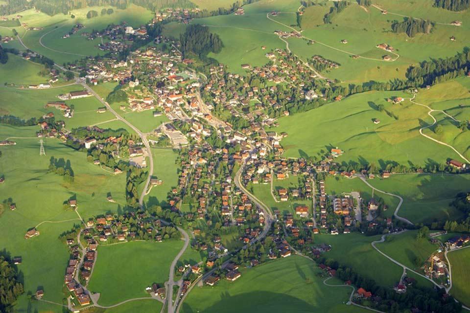 Die Waadtländer Alpen , Schweiz
