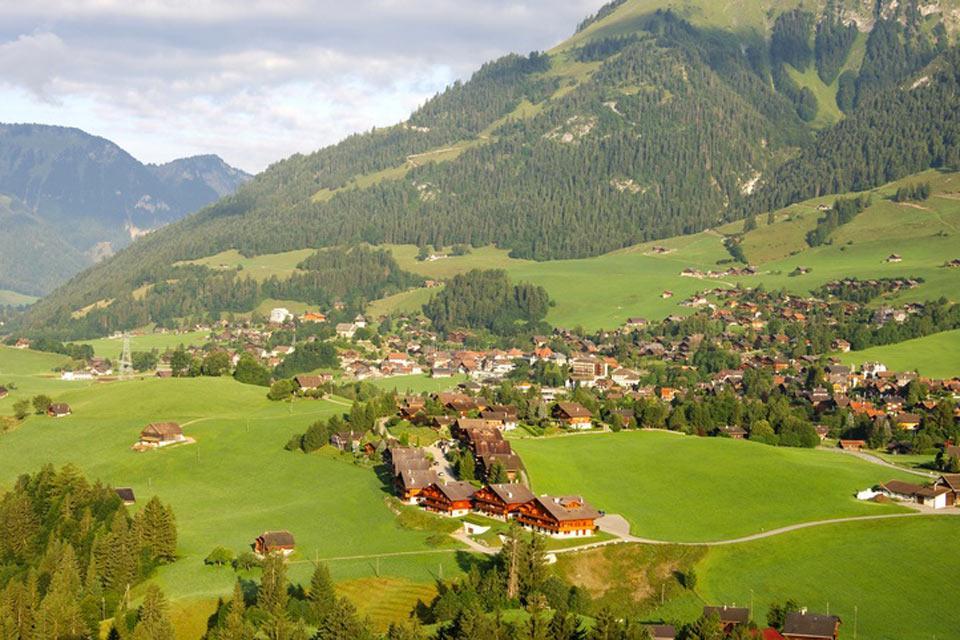 Die Waadtländer Alpen , Grüne Täler , Schweiz