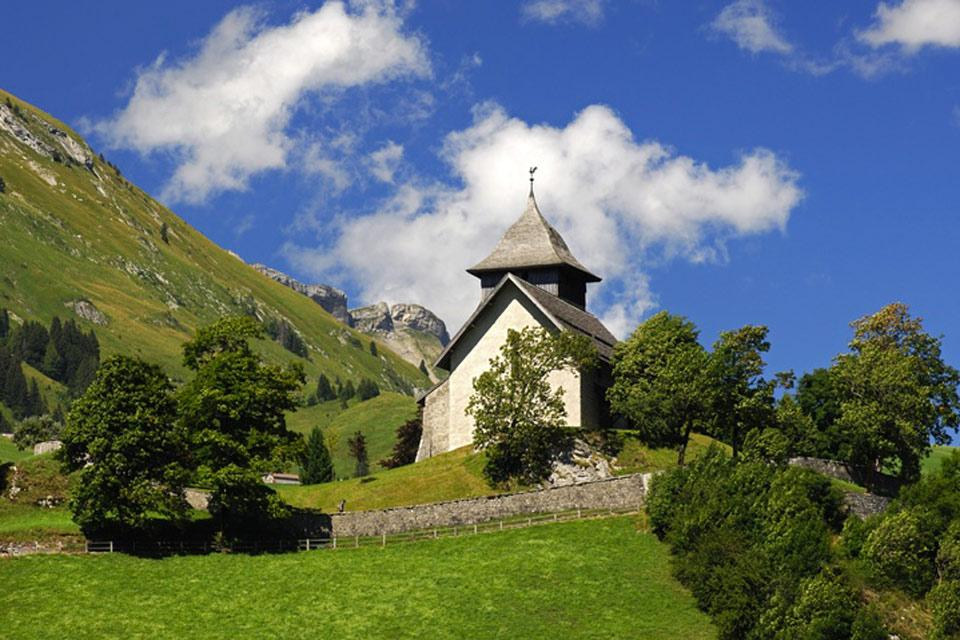 Die Waadtländer Alpen , Bergkapellen , Schweiz
