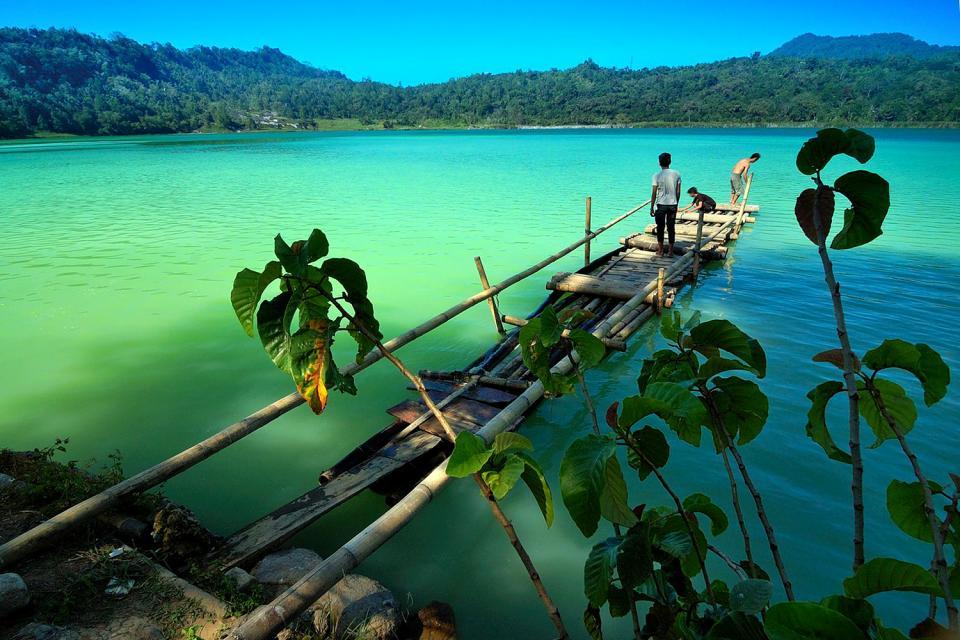 I laghi e le cascate , L'entroterra di Sulawesi, Indonesia , Indonesia