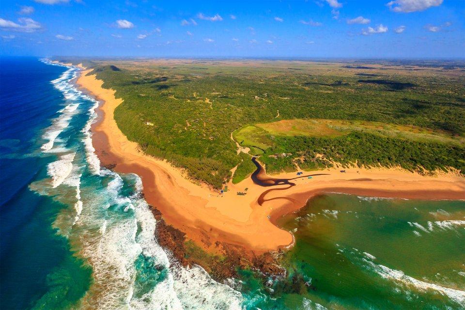 La provincia del KwaZulu-Natal, KwaZulu-Natal, I paesaggi, Sudafrica