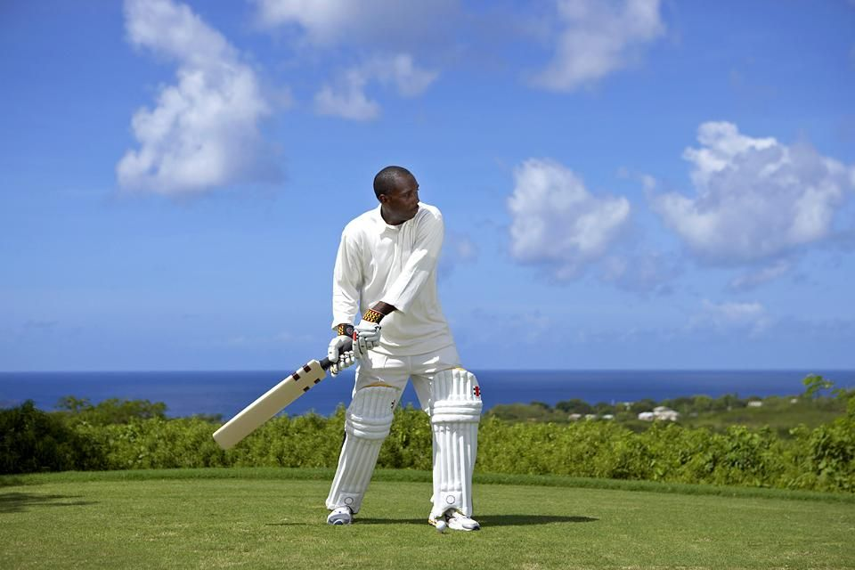 Some cricket players, Cricket, Arts and culture, Barbados