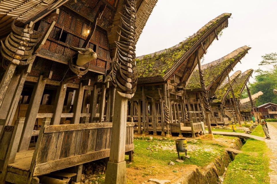 L'architecture traditionnelle , Indonésie