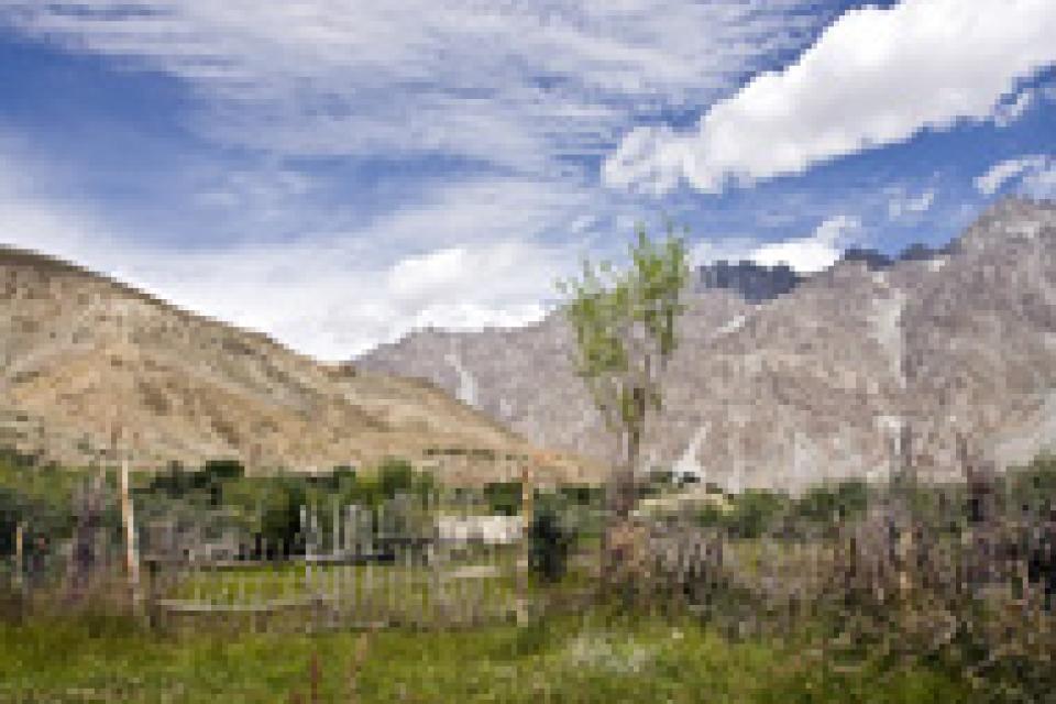 Las mesetas del Pamir , Tayikistán
