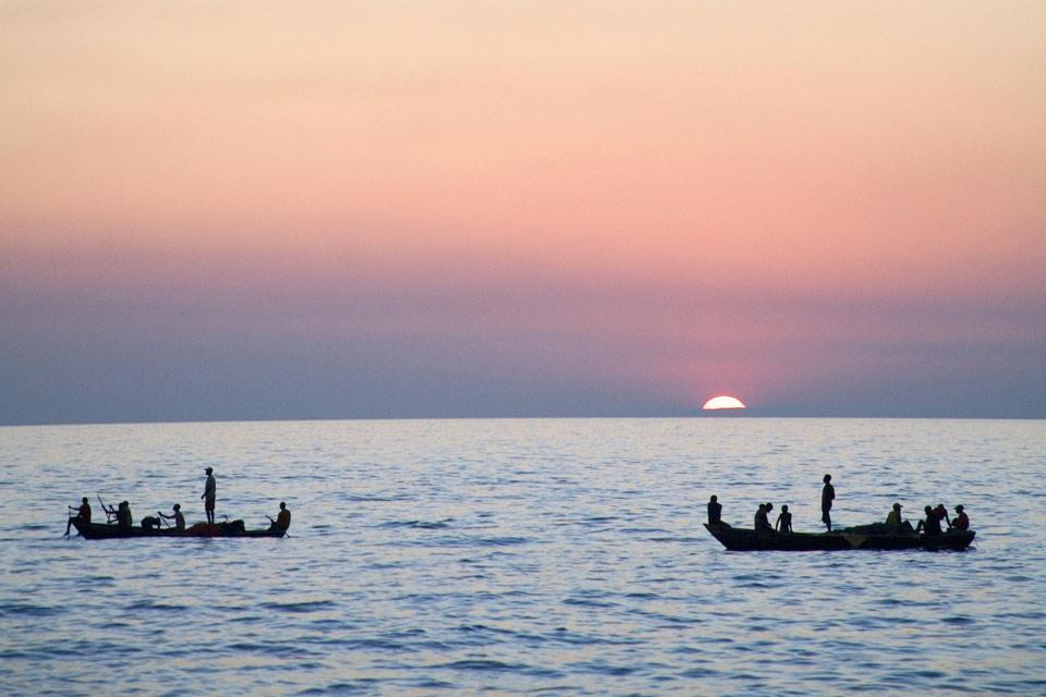Les paysages du Sud , Le lac Tanganyika , Tanzanie