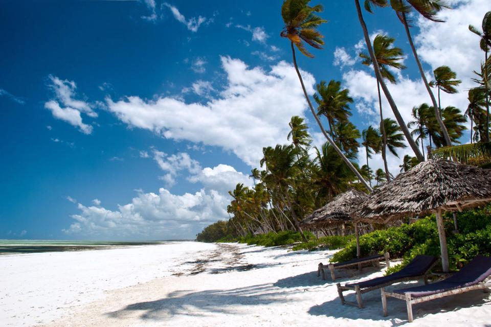 Los sitios de costa , La costa , Tanzania
