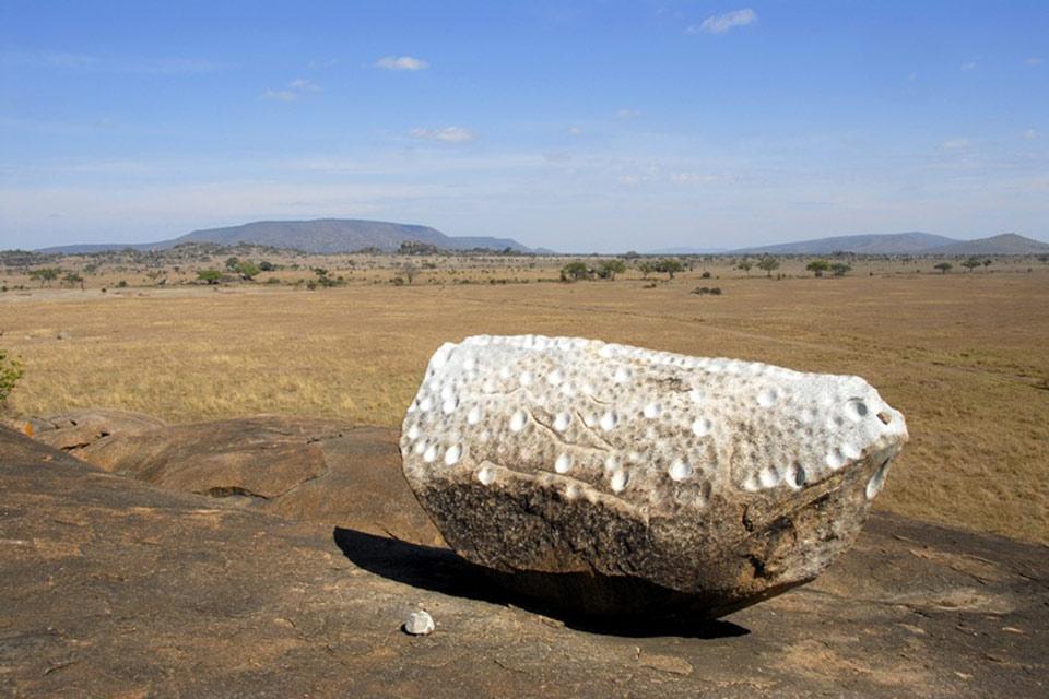 L'artisanat et la musique , Gong Rock à Muru Kopjes , Tanzanie