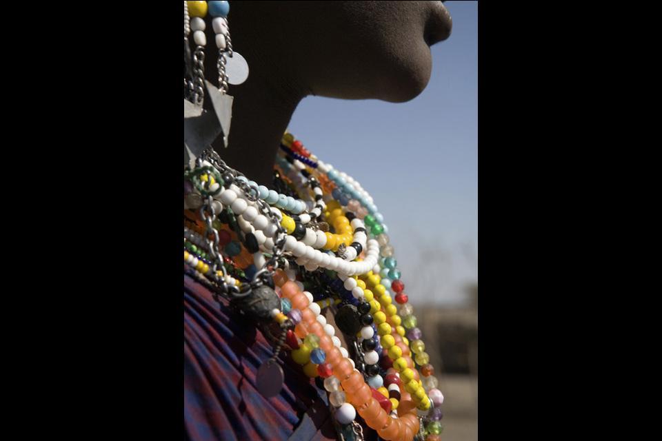 L'artisanat et la musique , Colliers de Tanzanie , Tanzanie