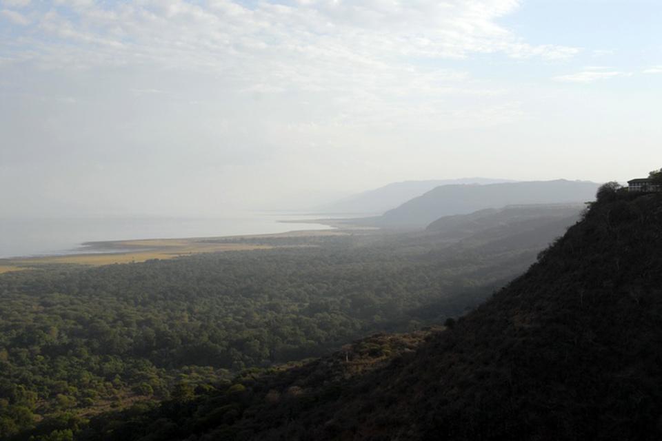 El Parque nacional del Manyara , Los acantilados de Manyara , Tanzania