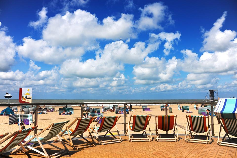 Los pueblos costeros , Ostende , Bélgica