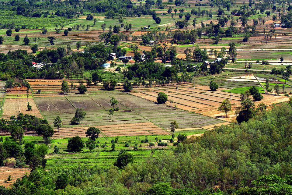Il pianoro dell'Isan, L'altopiano dell'Isaan, I paesaggi, Thailandia