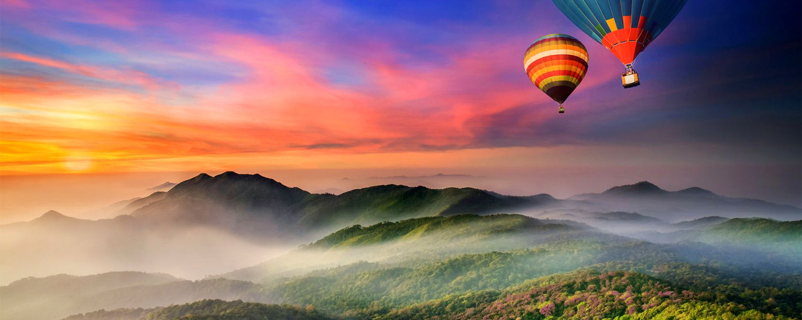 Las montañas, Los paisajes, Tailandia