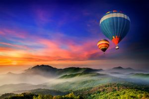 Las montañas , Tailandia