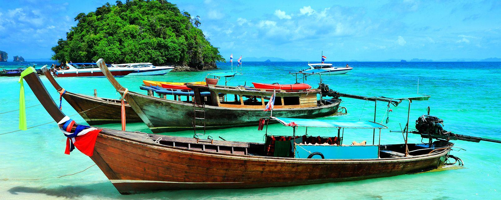 La péninsule de Kra, La péninsule du Kra, Les paysages, Thaïlande