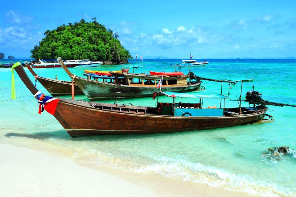 La península de Kra, Los paisajes, Tailandia