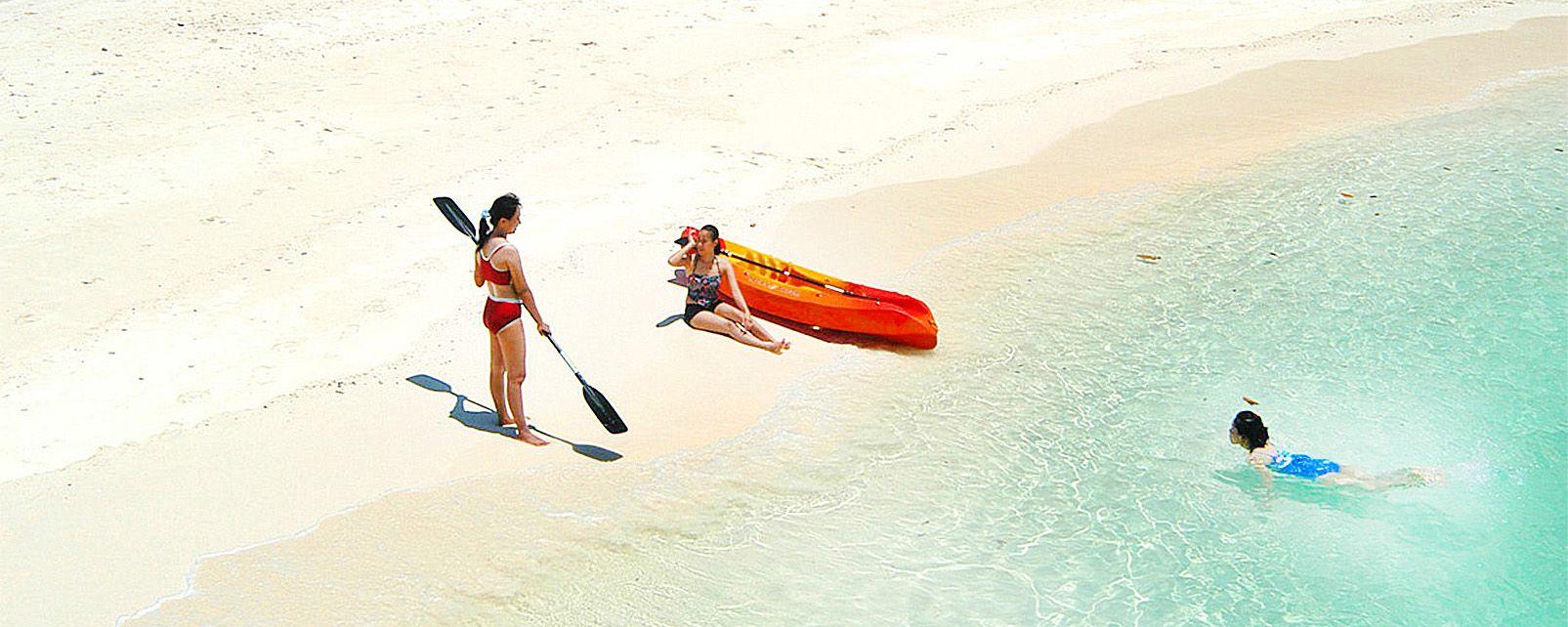 Le isole nel mare delle Andamane, Le isole del mare di Andamane, Le rive, Phuket, Thailandia