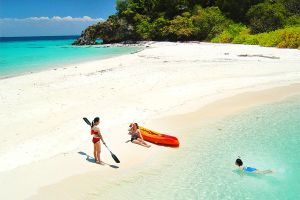 The islands in the Andaman sea , The Andaman Sea islands , Thailand