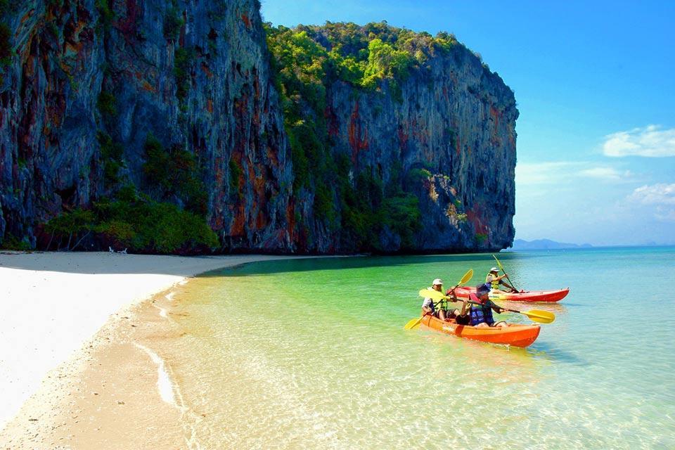 Las islas del mar de Andamán , Ko Lao Liang , Tailandia