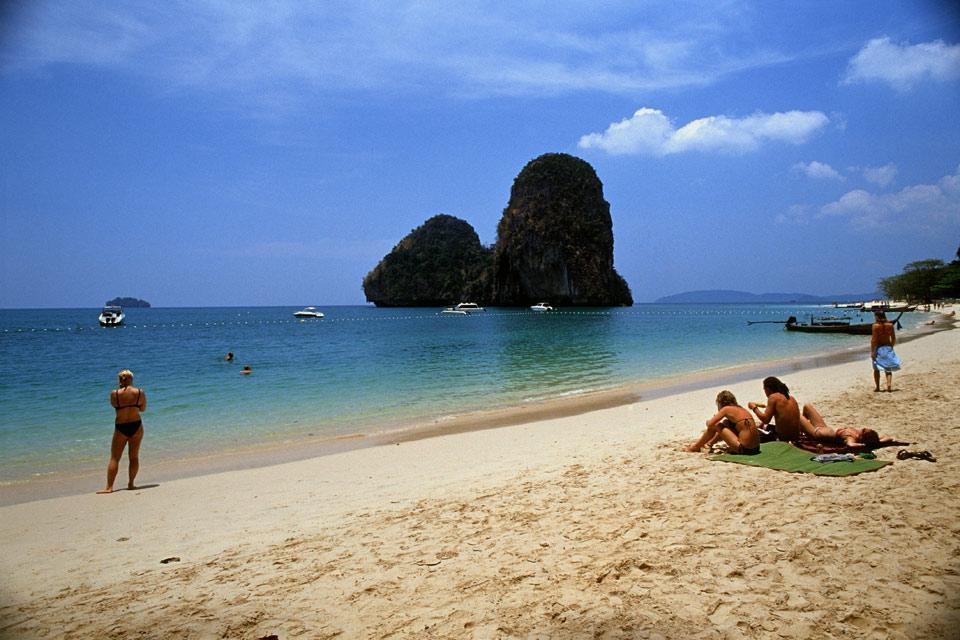 Las islas del mar de Andamán , Koh Phi Phi , Tailandia