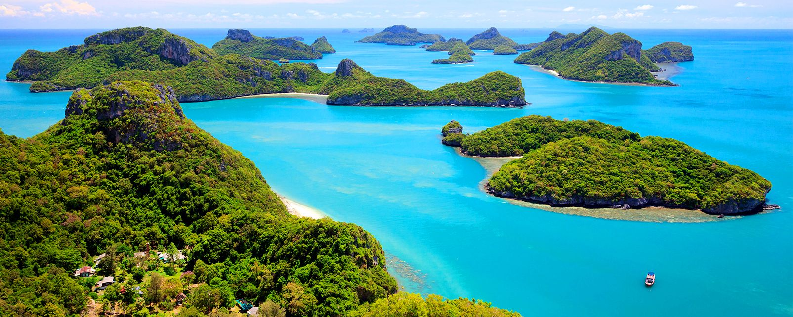 Spiaggia a Koh Samui, Le isole del golfo del Siam, Le rive, Thailandia