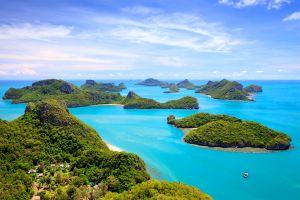 The Siam Gulf islands , The Siam Gulf Islands, Thailand , Thailand
