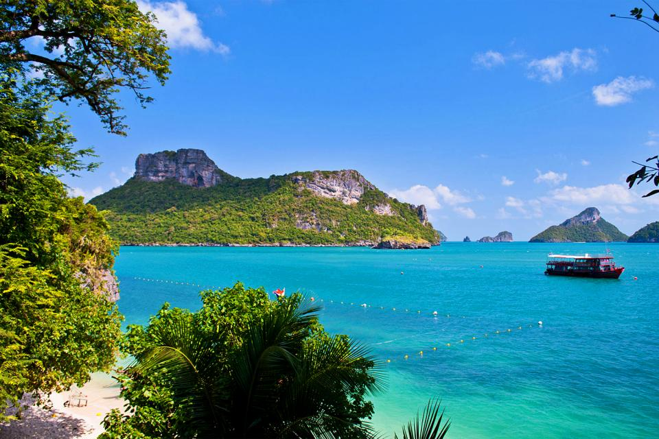 The Siam Gulf islands , Thailand