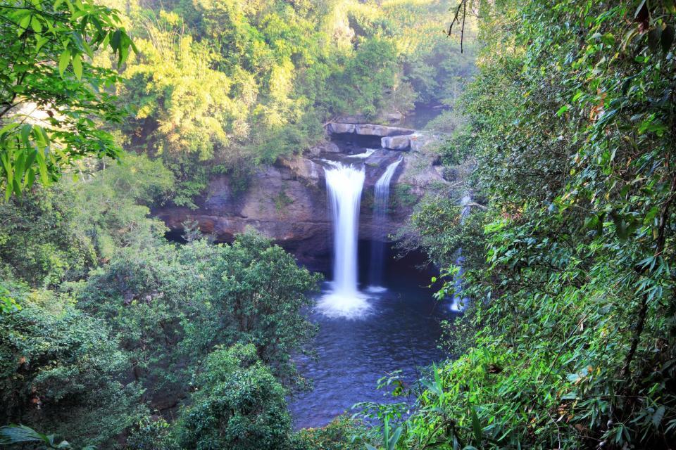 Le parc Khao Yai , Les chutes d'Haew Narok , Thaïlande