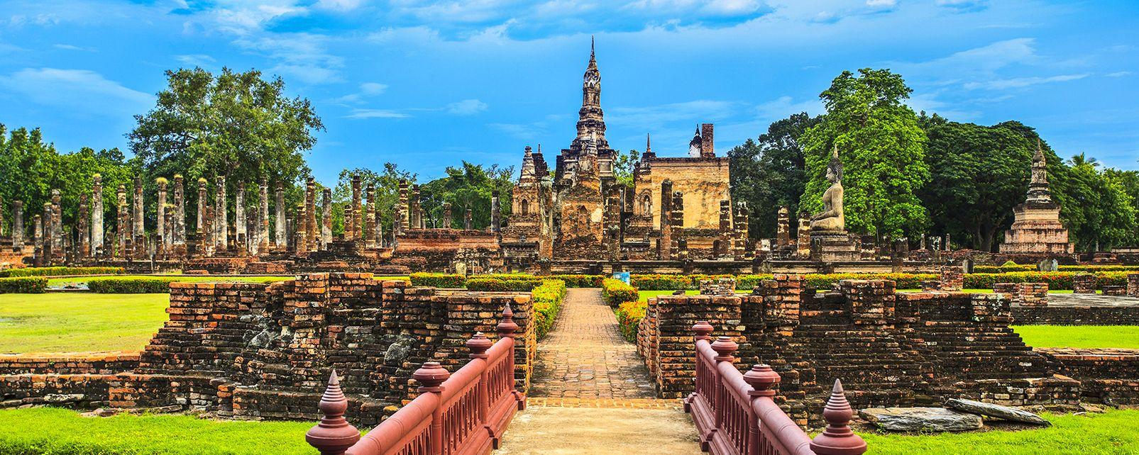 Sukhothai, Los monumentos, Sukhothai, Tailandia