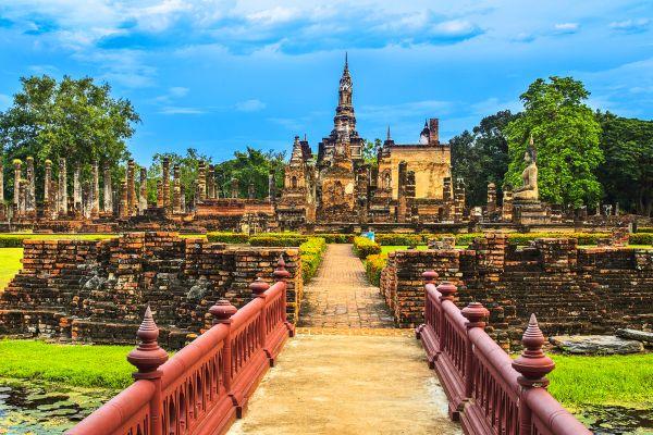 Sukhothai, Sukhotai, Die Monumente, Sukhothai, Thailand