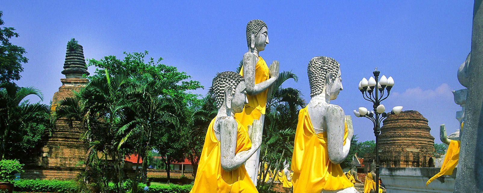 Ayutthaya, Los monumentos, Ayutthaya, Tailandia