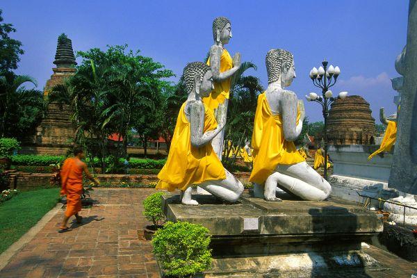 Ayutthaya, Die Monumente, Ayutthaya, Thailand