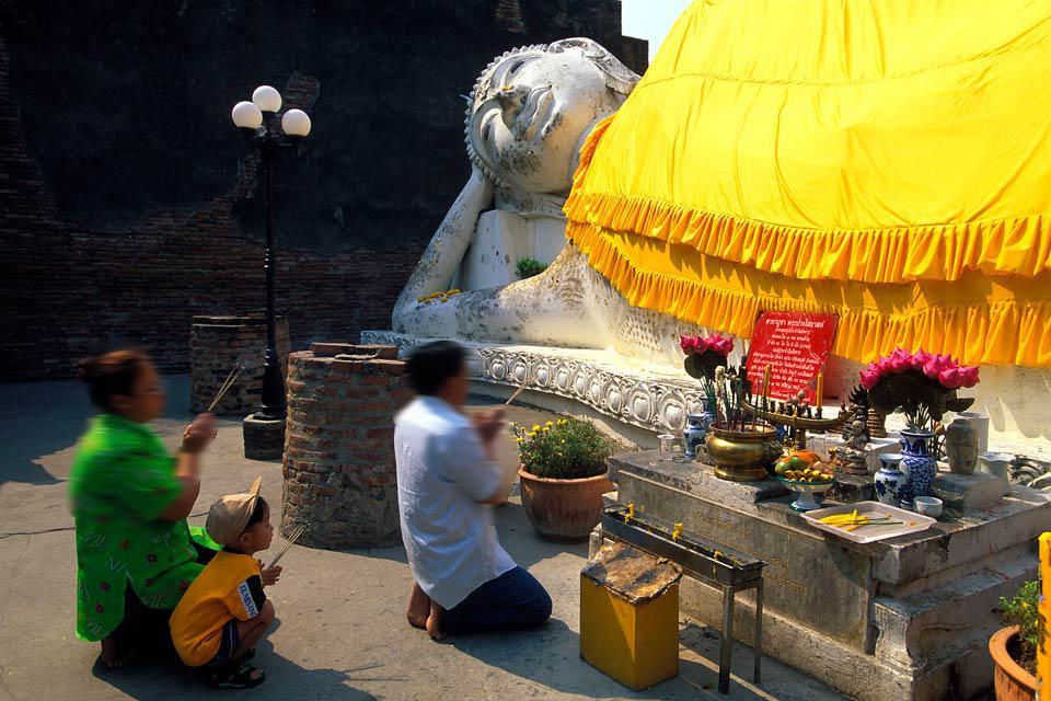 Ayutthaya , Le rovine di Ayutthaya , Thailandia