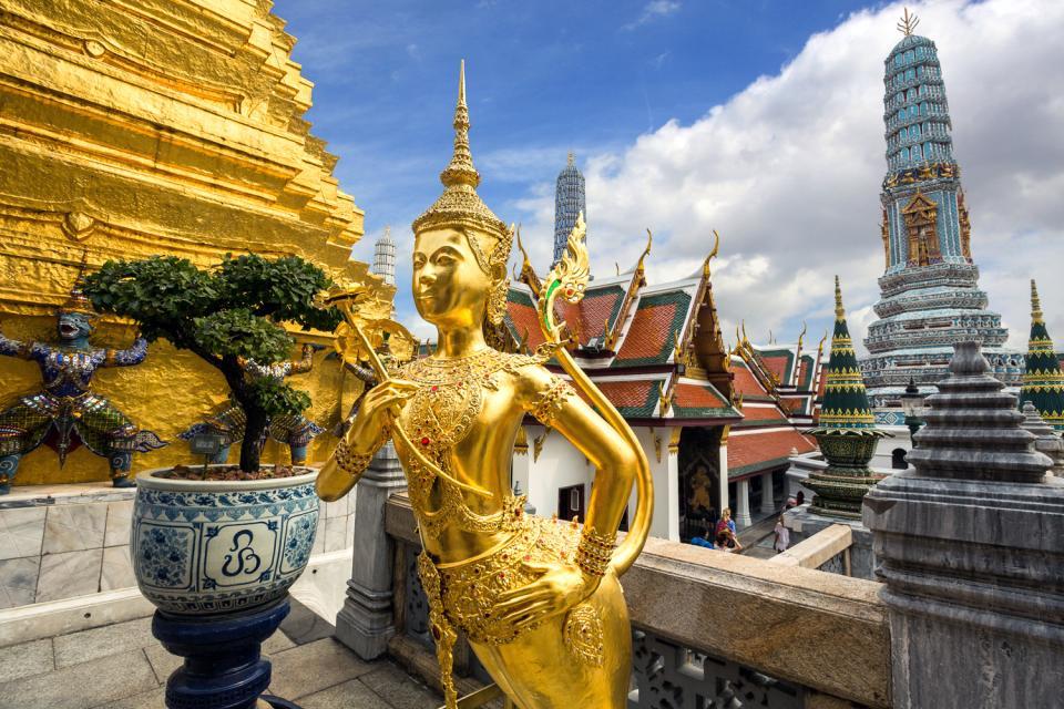 Les temples du Siam , L'Aponsi , Thaïlande